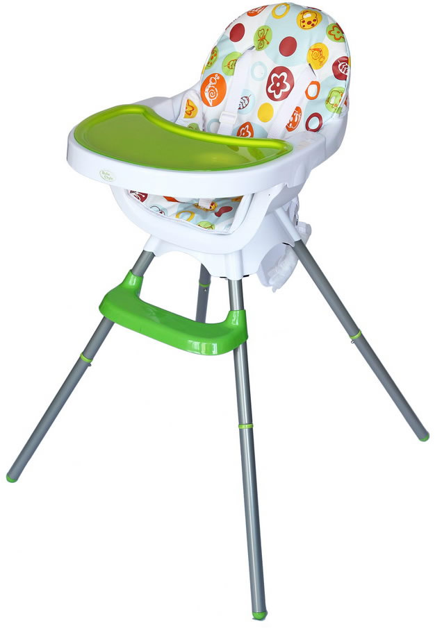 Deluxe 3 In 1 Highchair - Green-177