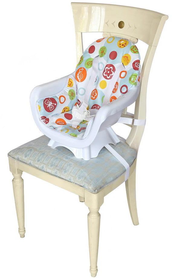 Deluxe 3 In 1 Highchair - Green-179