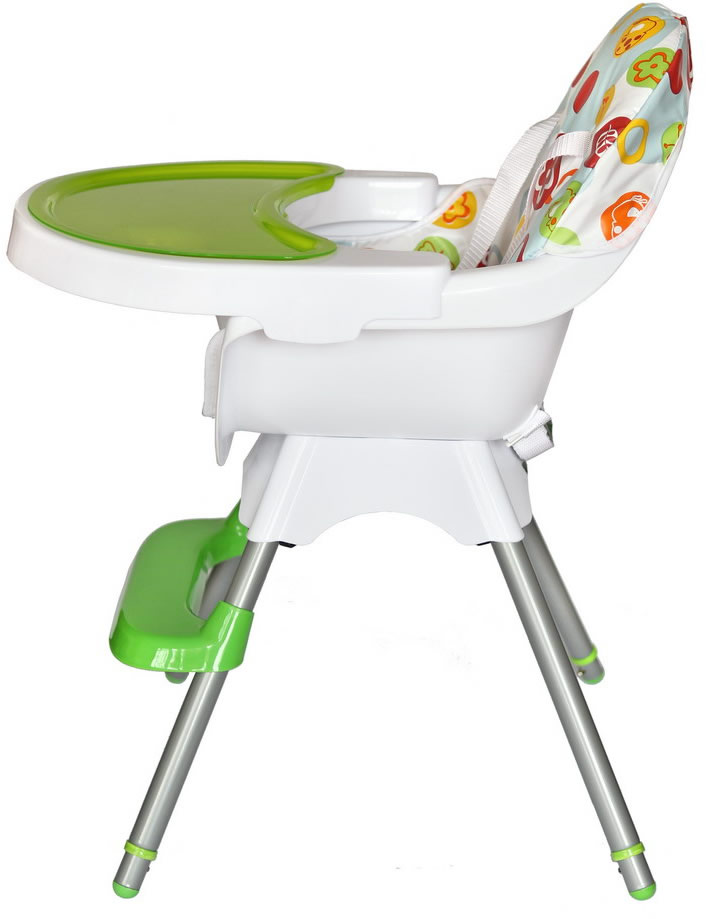 Deluxe 3 In 1 Highchair - Green-180